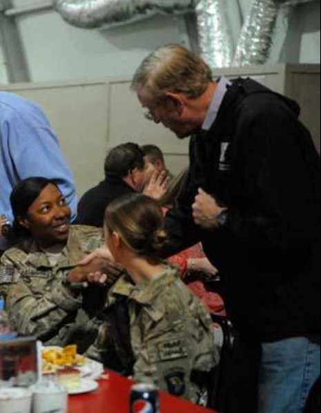 Congressman Cook visits troops at FOB Solerno, Afghanistan