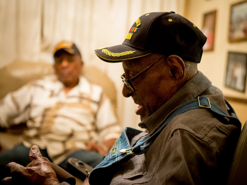 Former Private Frank Levingston, America's Oldest Living Veteran